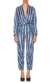Takeo Striped Twill Jumpsuit at Barneys