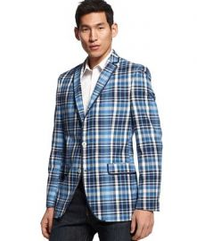 Tallia Plaid Sport Coat at Macys
