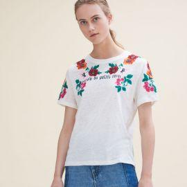 Tanisha T-shirt at Maje