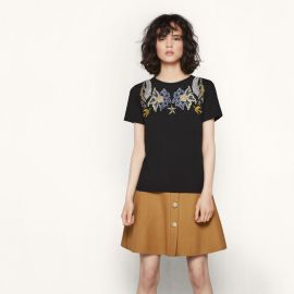 Tapioca T-shirt x at Maje