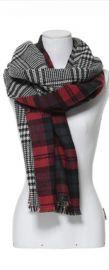 Tartan Blanket Scarf at Zara