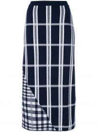 Tartan Signature Skirt by Victoria Beckham at Farfetch