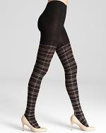 Tartan tights by Ralph Lauren at Bloomingdales