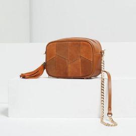Tassel Detail Cross Body Bag at Zara