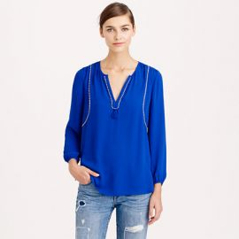 Tassel Trim Top at J. Crew