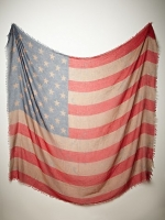 Tattered Flag Scarf at Free People