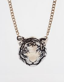 Tatty Devine  Tatty Devine Tiger Necklace at Asos
