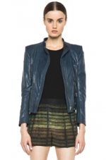 Teal Janner Jacket by Theyskens Theory at Forward by Elyse Walker
