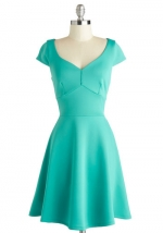 Teal Your Heart Dress at Modcloth