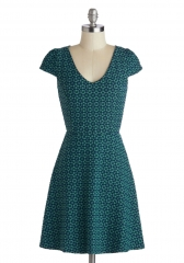 Teal the Moment Dress at ModCloth