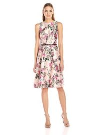 Ted Baker  Clarbel Blossom Jacquard V Back Dress at Amazon