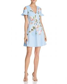 Ted Baker Effrae Harmony Cold-Shoulder Dress x at Bloomingdales