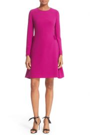 Ted Baker London   Side Bow A-Line Dress   Nordstrom Rack purple at Nordstrom Rack