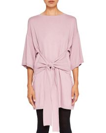 Ted Baker Ted Says Relax Olympy Tie-Front Knit Tunic  at Bloomingdales