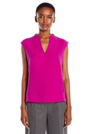 Ted Baker Women\\\'s Paysy High Neck Long Back Panel Top at Amazon