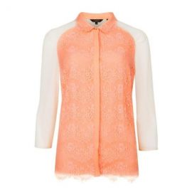 Ted Baker Abra Lace Shirt at Amazon