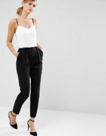 Ted Baker Cahron Strappy Jumpsuit in Mono at asos com at Asos