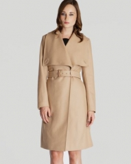 Ted Baker Coat - Madigan Draped Front at Bloomingdales