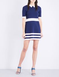 Ted Baker Colour by Numbers origami striped knitted dress at Selfridges