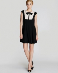 Ted Baker Dress - Nitcha Bow Collar at Bloomingdales