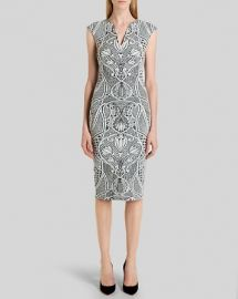 Ted Baker Dress - Sancha Woven Midi at Bloomingdales