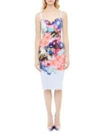 Ted Baker Emore Floral Print Dress at Bloomingdales