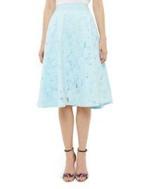 Ted Baker Floral Burnout Circle Skirt at Bloomingdales