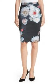 Ted Baker London   Laylie Chelsea Print Pencil Skirt   Nordstrom Rack at Nordstrom Rack