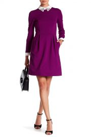 Ted Baker London   Moona Embellished Collar Dress   Nordstrom Rack at Nordstrom Rack