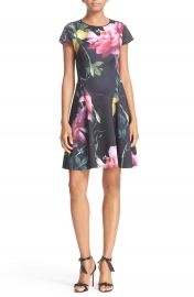 Ted Baker London  Allisia  Print Skater Dress at Nordstrom