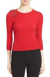 Ted Baker London  Callah  Bow Detail Crewneck Sweater at Nordstrom
