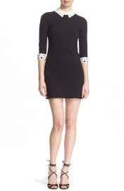 Ted Baker London  Currie  Lace Detail Knit Tunic Dress at Nordstrom