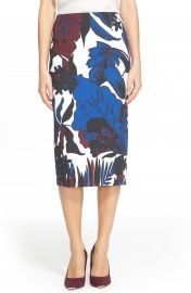 Ted Baker London  Darle  Botanical Print Skirt at Nordstrom