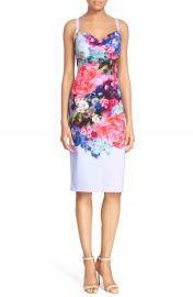 Ted Baker London  Emore  Floral Print Strappy Sheath Dress at Nordstrom
