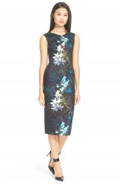 Ted Baker London  Loua  Floral Print Body-Con Dress at Nordstrom