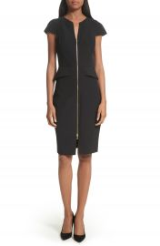 Ted Baker London Architectural Pencil Dress at Nordstrom