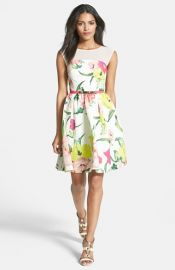 Ted Baker London Iberisand39 Print Dress at Nordstrom