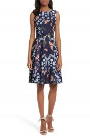 Ted Baker London Jennesa Kyoto Gardens Faux Wrap Dress at Nordstrom