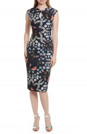 Ted Baker London Kiarra Kyoto Gardens Sheath Dress at Nordstrom