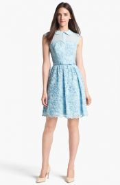 Ted Baker London Lace Fit andamp Flare Dress at Nordstrom