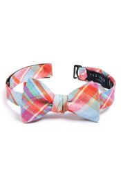 Ted Baker London Linen Bow Tie at Nordstrom