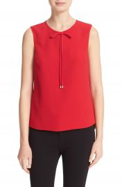 Ted Baker London Natalle Bow Detail Crepe Top at Nordstrom