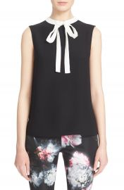 Ted Baker London Olia Bow Tie Crepe Top at Nordstrom