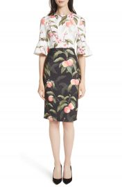 Ted Baker London Peach Blossom Sheath Dress at Nordstrom