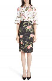 Ted Baker London Peach Blossom Sheath Dress at Nordstrom