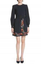 Ted Baker London Silia Kirstenbosch Embroidered Dress at Nordstrom