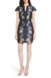 Ted Baker London Tzalla Sculpted Stardust Jacquard Dress at Nordstrom