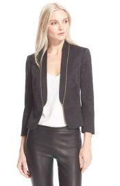 Ted Baker London Zip Detail Suit Jacket at Nordstrom