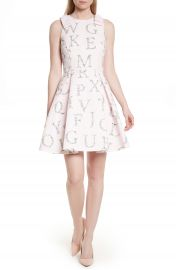Ted Baker London Zowey Unity Floral Bow Skater Dress at Nordstrom