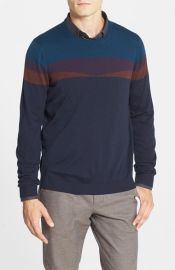 Ted Baker London and39Farlieand39 Slim Fit Merino Wool Crewneck Sweater at Nordstrom